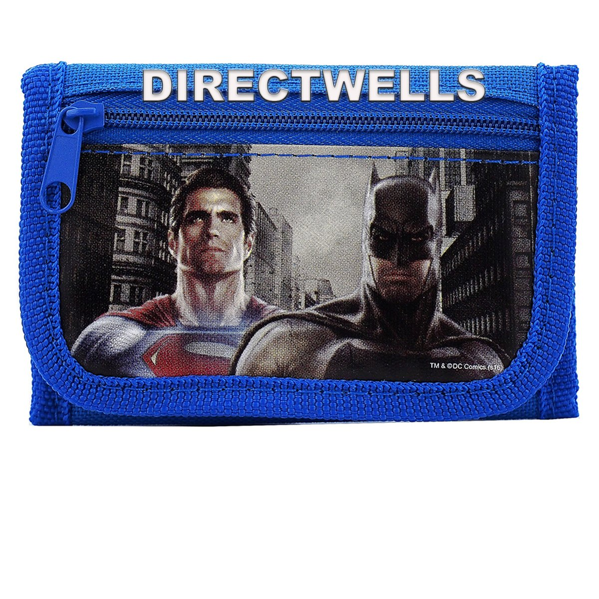 Batman vs Superman Dawn Justice Authentic Licensed Trifold Wallet DC Comics
