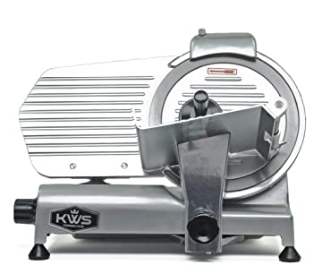 KWS MS-10NS Premium Commercial 10-inch Electric Meat Slicer