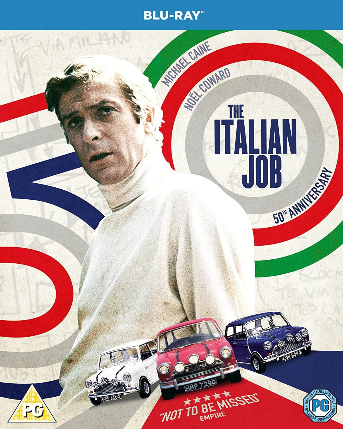 The Italian Job - 50th Anniversary Edition Blu-ray 1969: Amazon.co ...