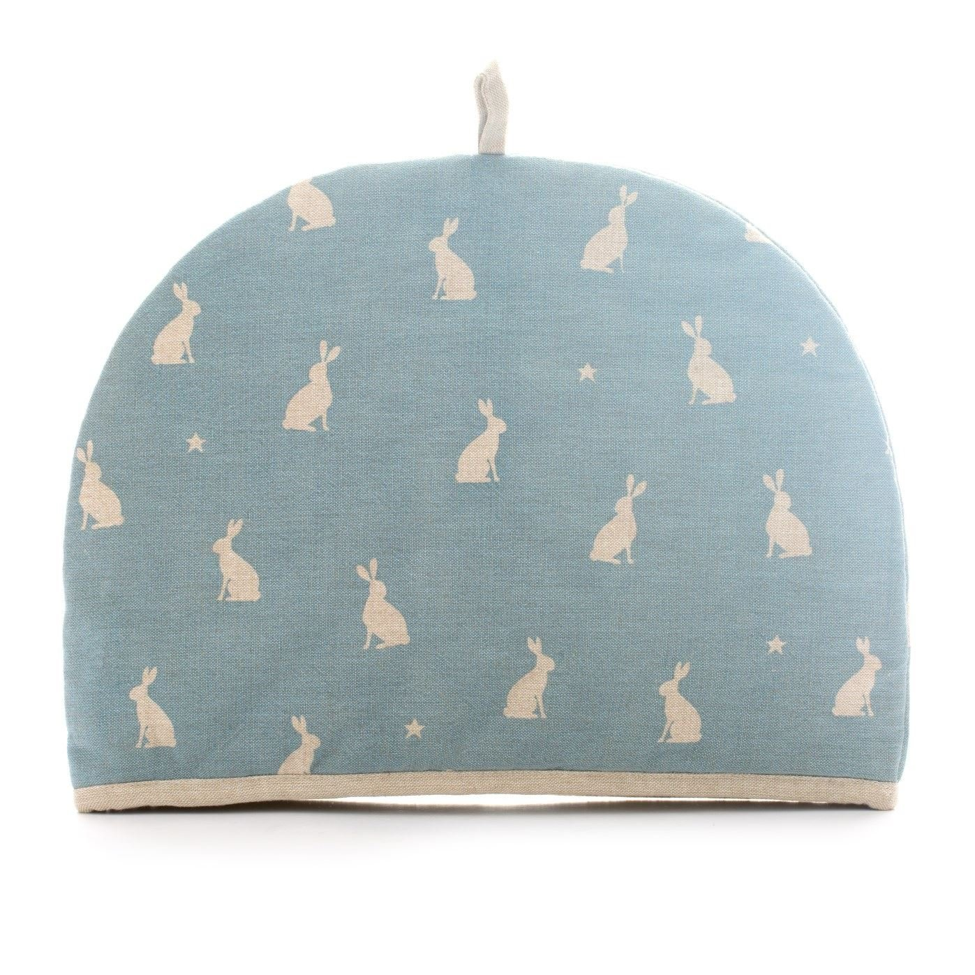 Rushbrookes Stargazing Hare 100% Cotton Small Tea Cozy