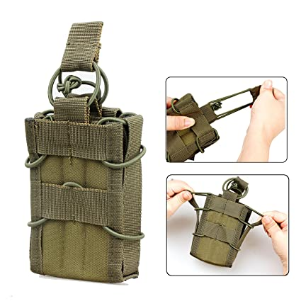 Amazon com : Magazine Holder 1PC Tactical Molle Compatible