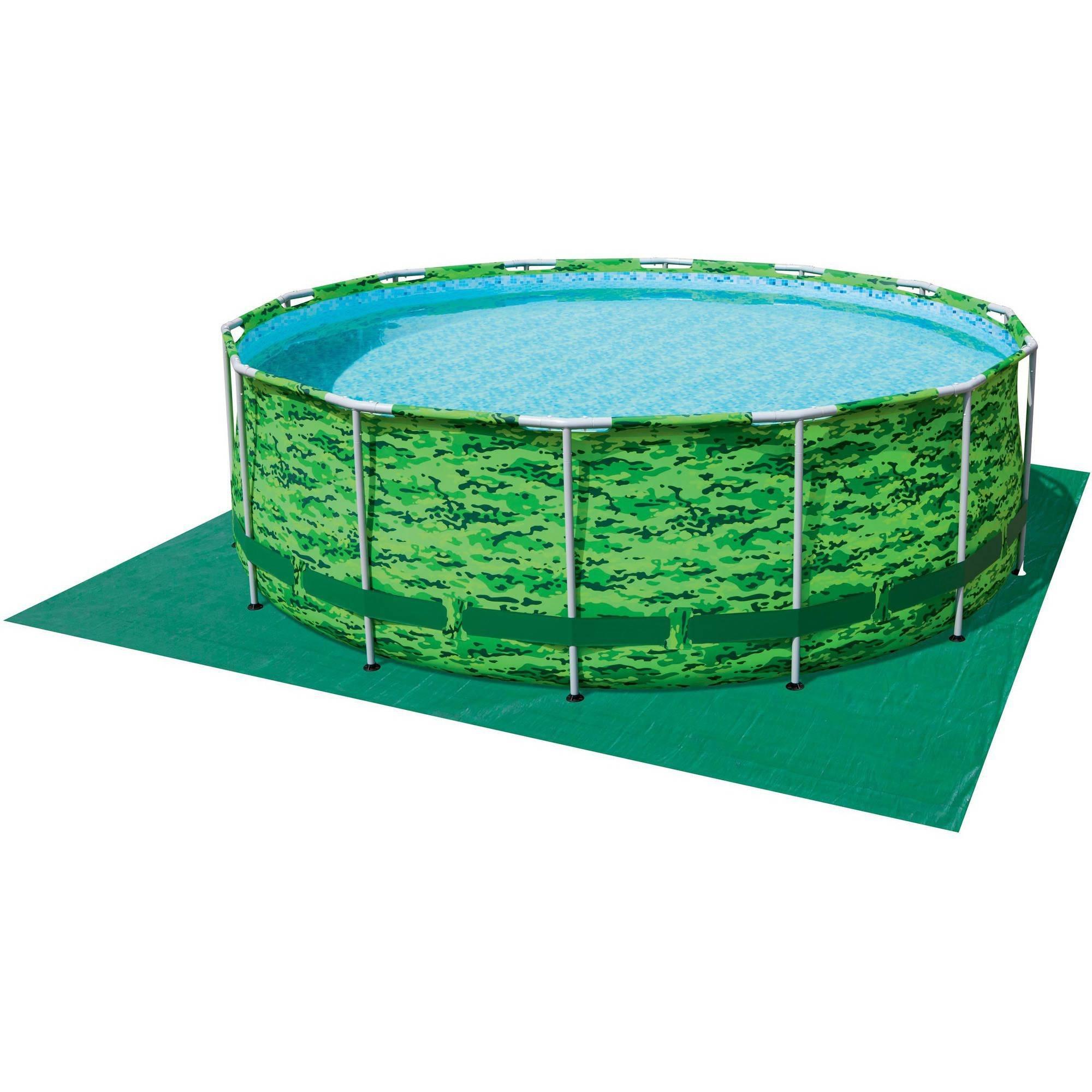 Bestway Steel Pro MAX Camo 14' x 48'' Frame Swimming Pool Set