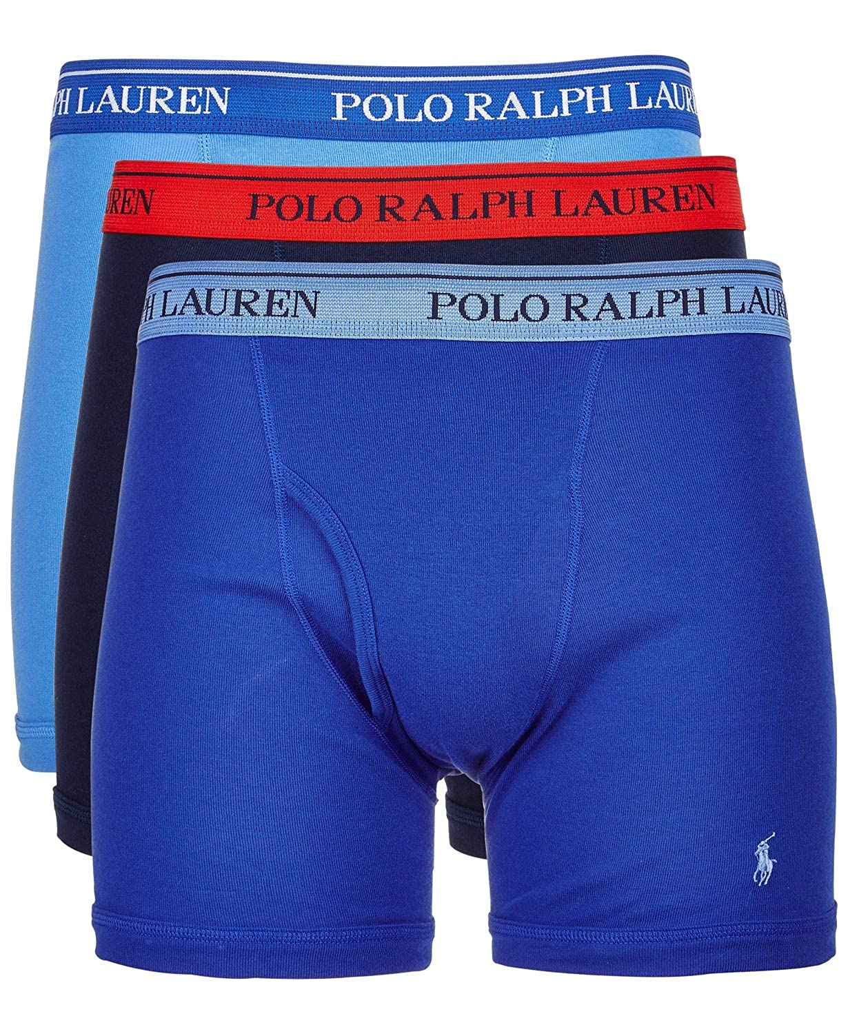 popular brand retro wide selection of colors Polo Ralph Lauren Men's 3-Pack Boxer Brief
