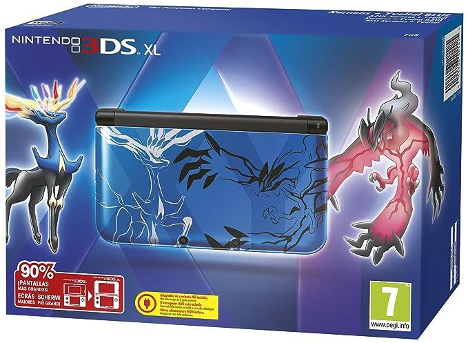 3DS XL - Console Pokémon Xerneas E Yveltal, Blu [Importación ...