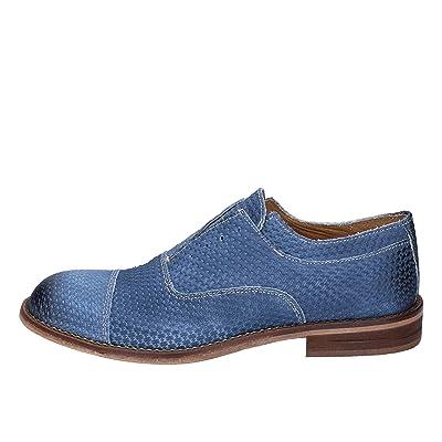 ailishabroy Chaussures de Sport pour Homme Richelieus /à Lacets en Cuir Noir