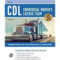 CDL - Commercial Driver's License Exam, 6th Ed.: Everything You Need to Pass Your CDL Exam (CDL Test Preparation)