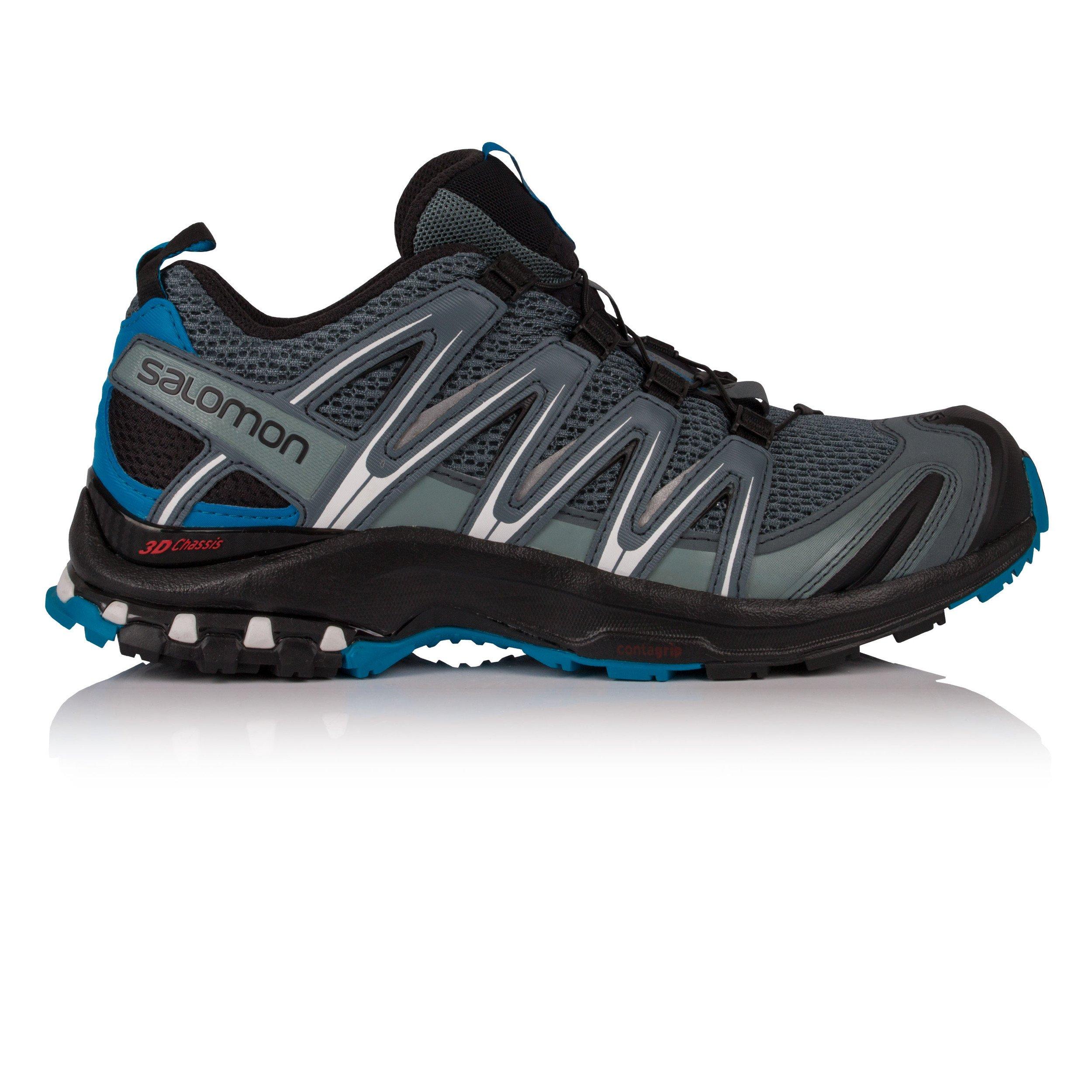 Salomon XA Pro 3D Trail Running Shoe - Men's, Stormy Weather/Black/Hawaiian Surf, 14 L40074500-14 by Salomon