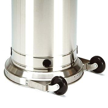 Burny – Heater Juego de ruedas para estufa 1530