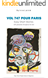 Vol 747 pour Paris, Easy Short Stories: with glossaries throughout the text (Easy French Reader Series for Beginners t…