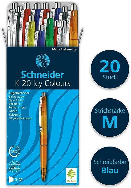 Schneider P183101x10 Penna Roller nero 10 Pezzi 0.3 mm