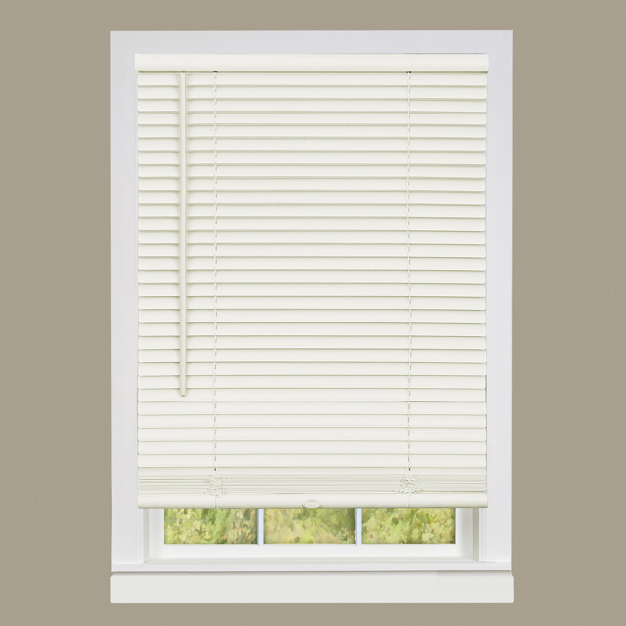 Achim Home Furnishings DSG227AL06 Deluxe Sundown G2 Cordless Blinds, 27'' x 64'', Alabaster by Achim Home Furnishings