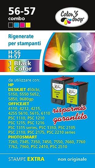 HP 56XL HP57XL Combo pack cartuchos de tinta de alta capacidad de ...