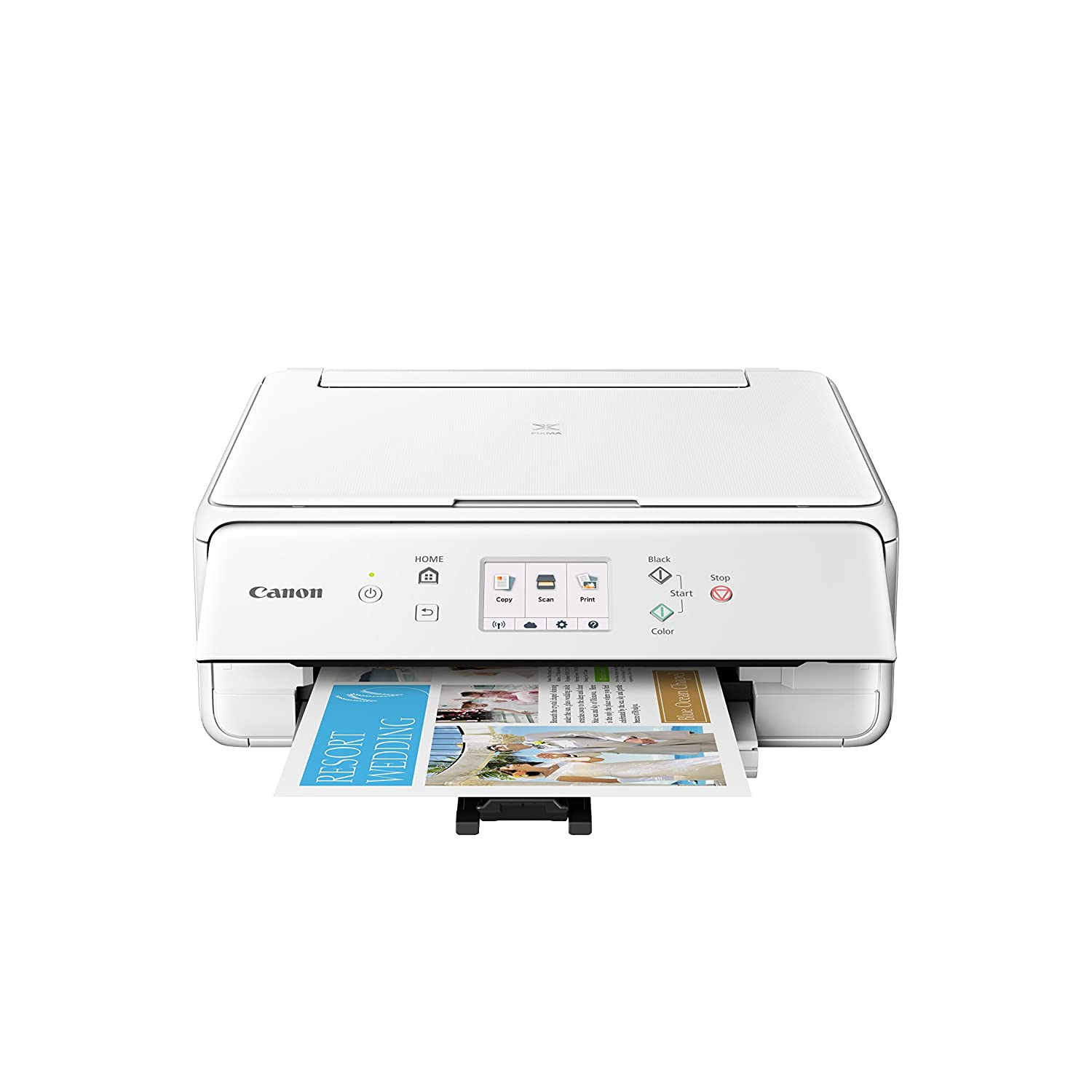 Canon PIXMA TS6120 Wireless Color Photo Printer with Scanner & Copier - Black, and CLI-280XXL Black Ink bundle