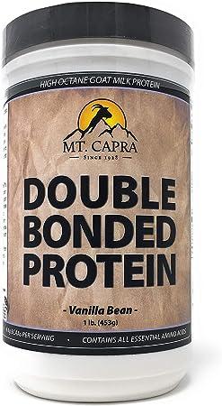 Mt. Capra Products - doble servidumbre cabra leche proteína de vainilla - 1 lb.