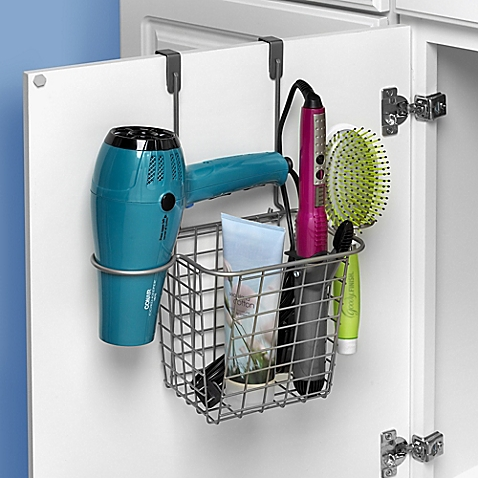 Spectrum Grid Over-the-Door Styling Caddy - BedBathandBeyon​d.com