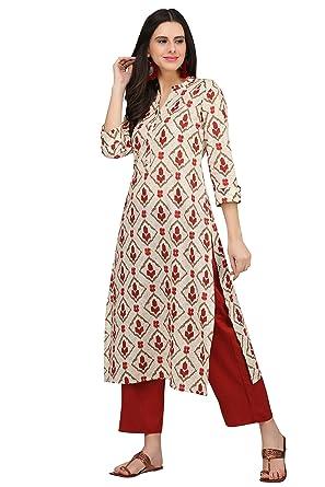 419e7441af Amazon.com: Indian Designer Kurta Kurti Ethnic Top Tunic Party Wear Women  Dress Blouse: Clothing