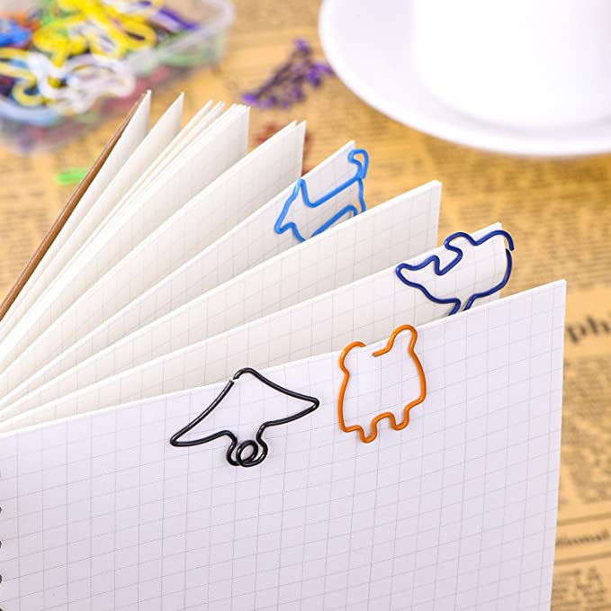 Amazon.com: Shappy Multicolor Clips Creative forma animal ...