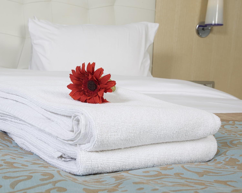 Secado rápido juego de toallas con dryfast. Hotel de lujo suave algodón - colección | 2 de baño y 2 toallas de mano para energía y labor eficiente y secado ...