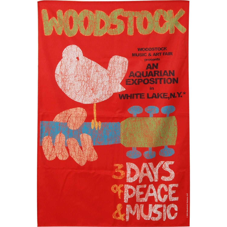 Woodstock Poster Flag