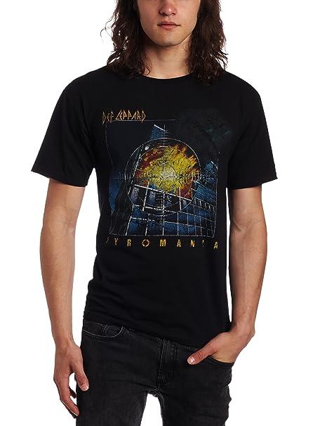 495c3ba9bcf FEA mens Def leppard pyromania mens tee  Amazon.ca  Clothing ...