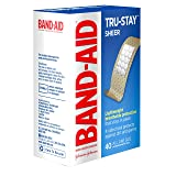 Band-Aid Brand Tru-Stay Sheer Strips Adhesive