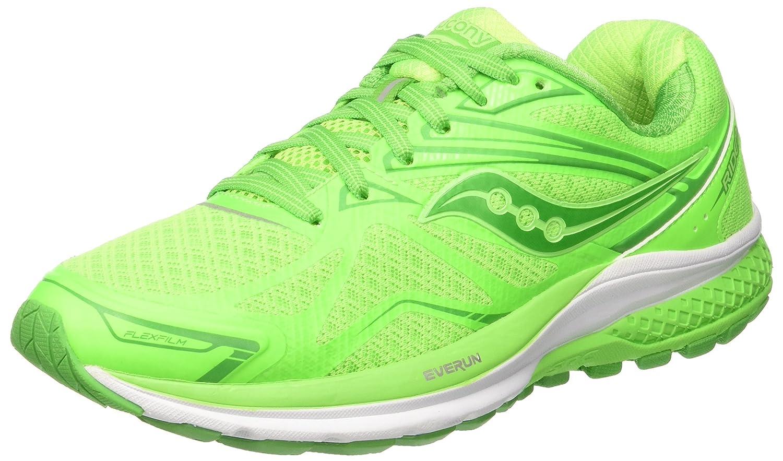 Saucony Women's Ride 9 Running Shoe B018EZRONS 5 B(M) US|Lime