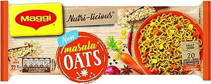 MAGGI Nutri-Licious Masala Oats Noodles, 290g Pouch
