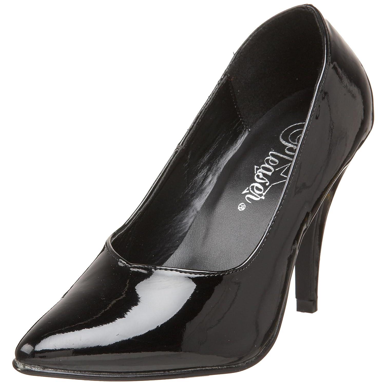 PleaserDREAM-420W, Zapatos de Tacón Mujer 42 EU|Negro
