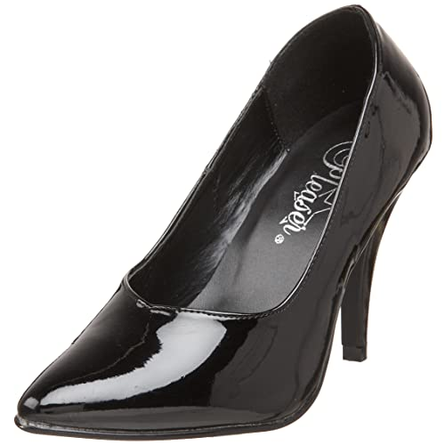 US 9 Lack Schwarz EU 39 Pleaser SEDUCE 420 Damen Pumps