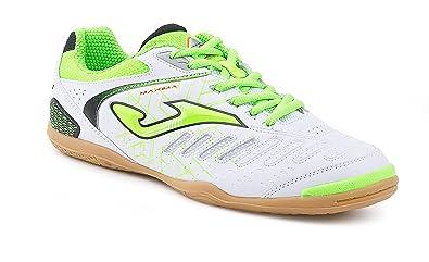 5447c85a0 Joma Maxima 602 BIANCO-VERDE Indoor Indoor Footballshoe maxw.602.PS White  Size