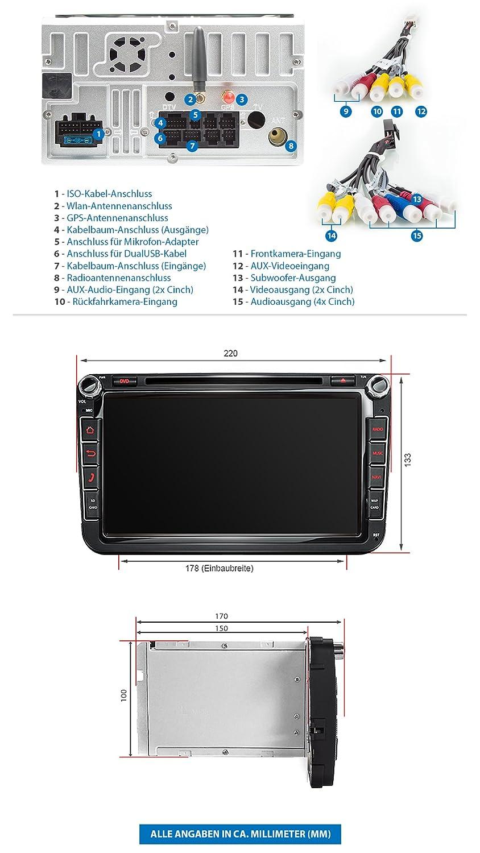 Fein Auto Stereo Anschlussdiagramm Fotos - Schaltplan Serie Circuit ...