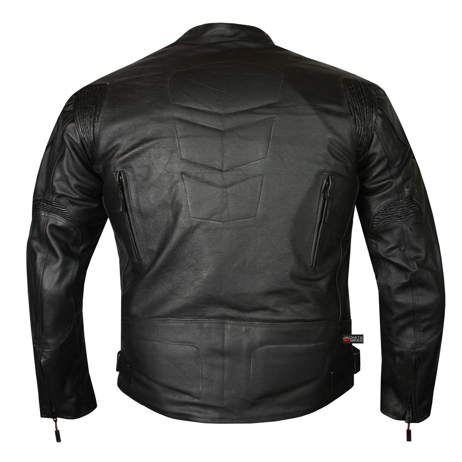HIGHLY VENTILATED MOTORCYCLE LEATHER CRUISER ARMOR TOURING JACKET FOR MEN XXL