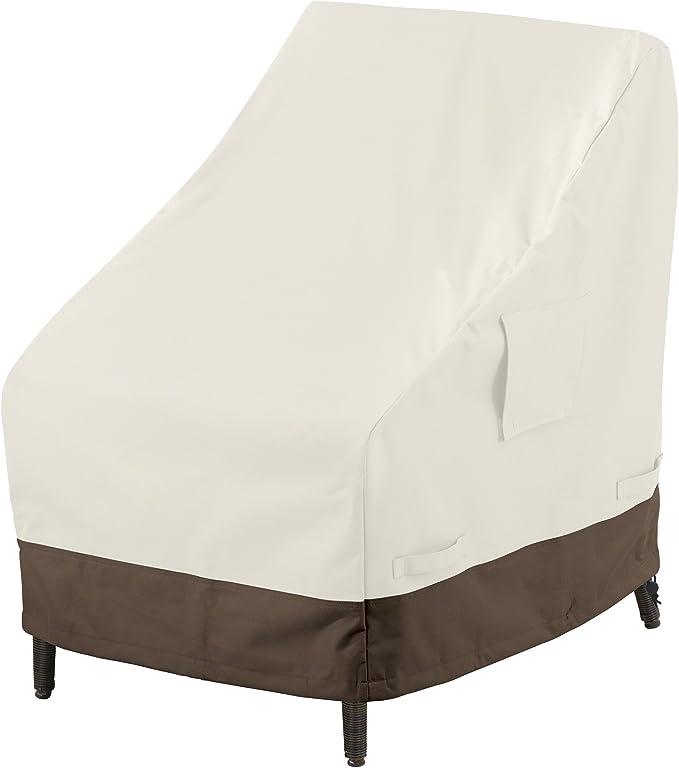 AmazonBasics - Funda protectora para silla con respaldo alto: Amazon.es: Jardín