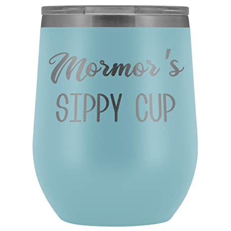 SWIG Stemless Wine Glass Stainless Steel Stemless Insulated Wine Cups Sippy Cup