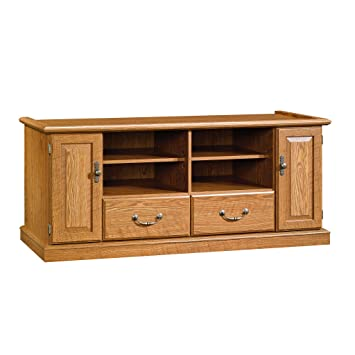 Amazon Com Sauder 401346 Orchard Hills Entertainment Credenza For
