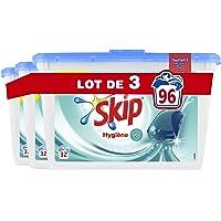 Skip Lessive Capsules Hygiène 96 Lavages (Lot de 3x32 Lavages)
