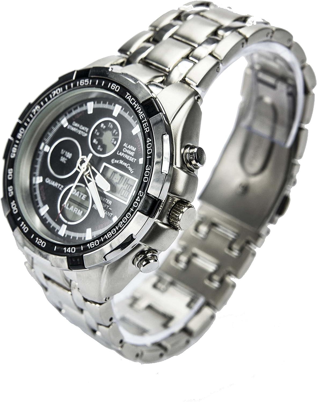 Reloj Fondo Negro