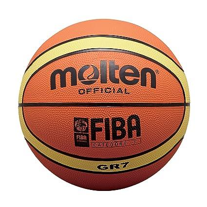 MOLTEN BGR Balón de Baloncesto, Tan, 6: Amazon.es: Deportes y aire ...