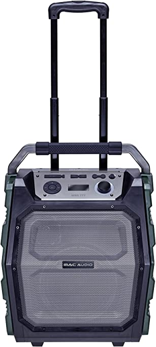 Altavoz Maleta MAC AUDIO MRS777 Inalámbrico, Bluetooth, USB, SD Card, Aux