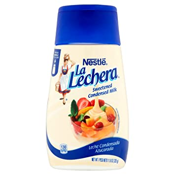 Nestle La Lechera Sweetened Condensed Milk, 11.8 oz (Pack of 3)