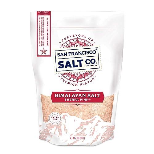 San Francisco Salt Company Sherpa Pink Gourmet Himalayan Salt