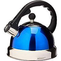 Chaleira com Apito, Hauskraft, HSK-H182AZ, Azul