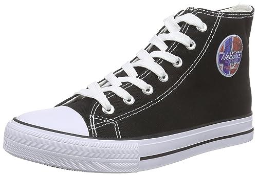 NebulusNevada - Scarpe da Ginnastica Basse Donna amazon-shoes bianco Salida 100% Auténtico t0qcHA