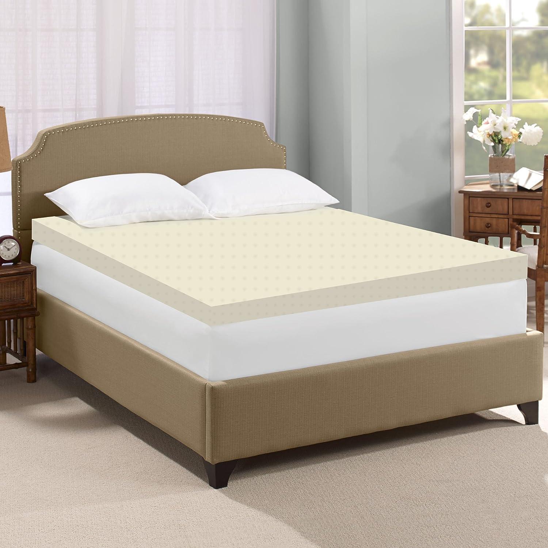 amazon com spinal solution high density foam mattress topper