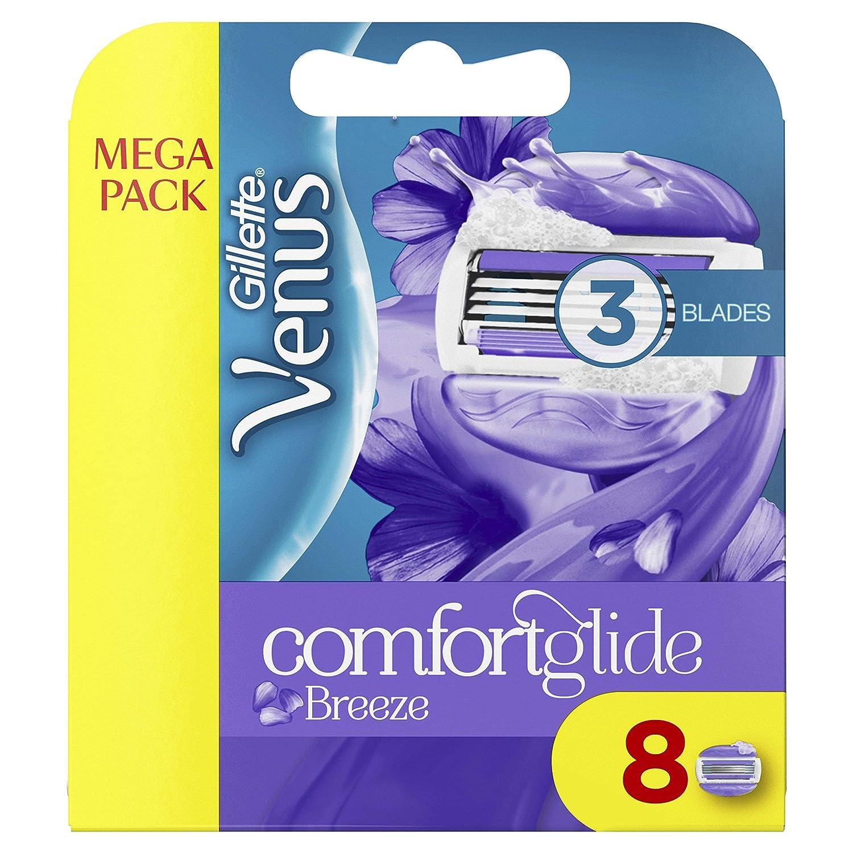 Gillette Venus Breeze Razor Blades 8 pack Healthcenter 84285