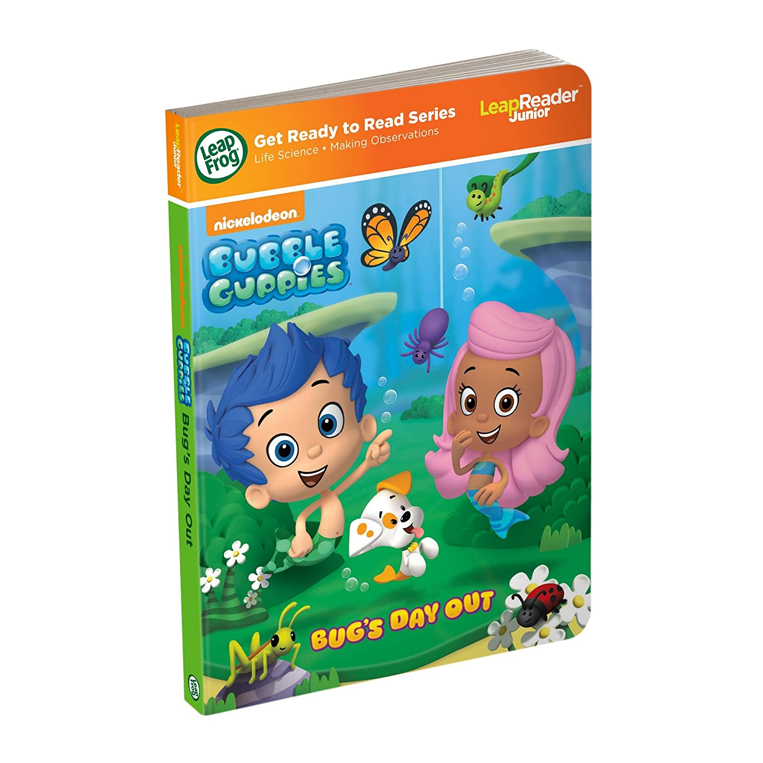 LeapFrog Nickelodeon Bubble Guppies: Bug's Day Out (for LeapReader Junior and Tag Junior) by Bubble Guppies 80-21403E