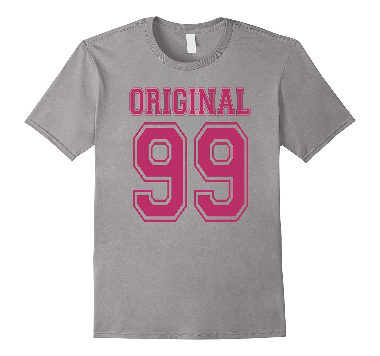 1999 T-shirt 18th Birthday Gift 18 Year Old Girl B-day Cute-Rose