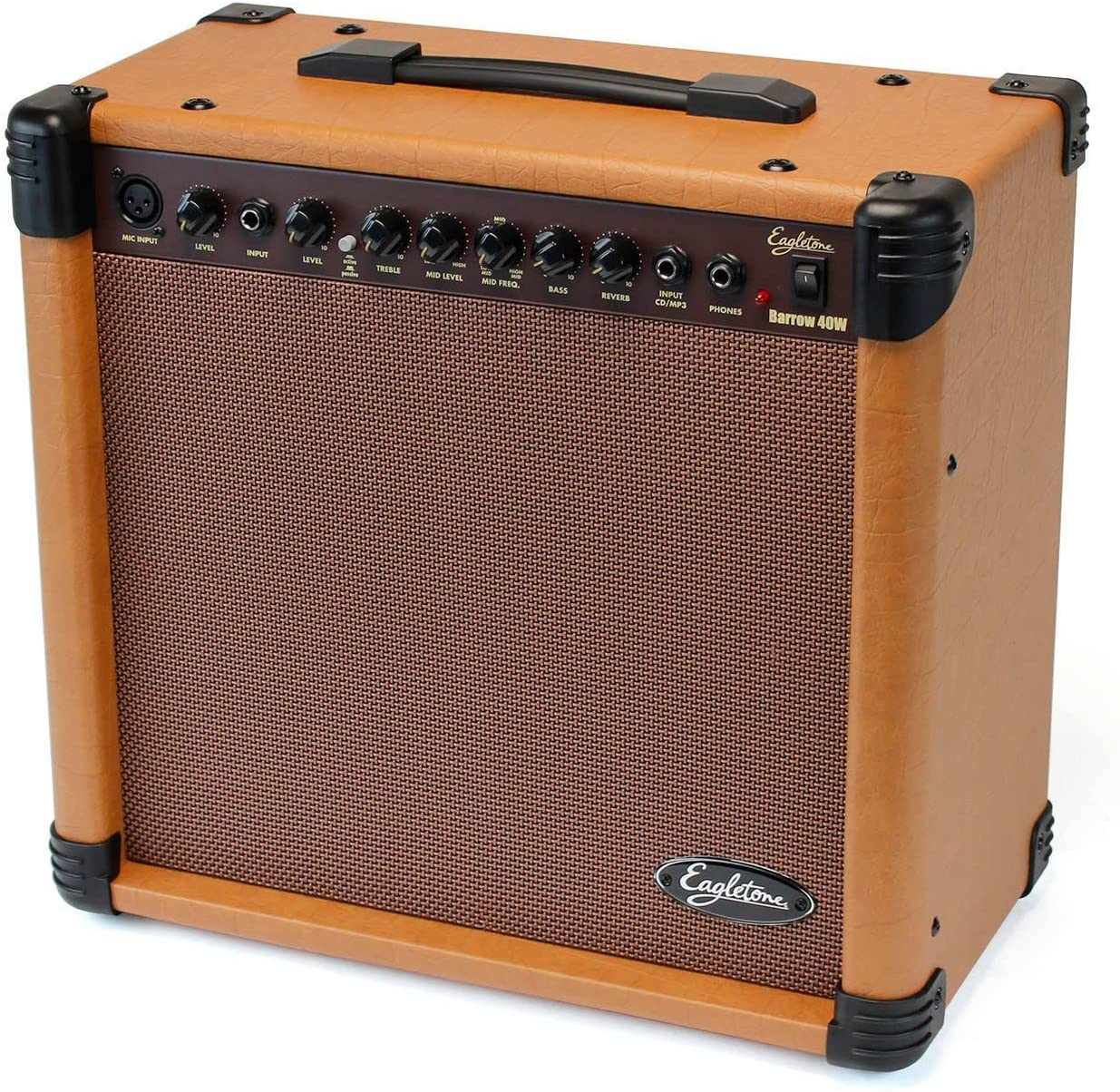 Eagletone Barrow amplificador de guitarra acústica de Brown 40W