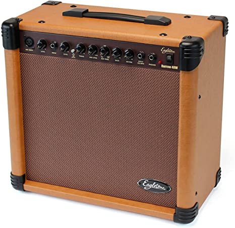 Eagletone Barrow amplificador de guitarra acústica de Brown 40W ...