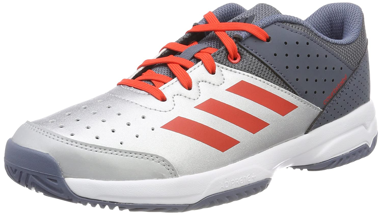 MultiCouleure (Onix Plamet Roalre 000) adidas Court Stabil Jr, Chaussures de Handball Mixte Enfant 37 1 3 EU